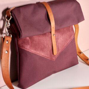 Tasche Roja dunkelrot