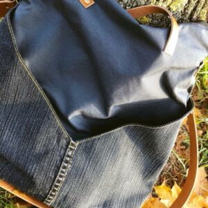 Mona Jeans Oilskin